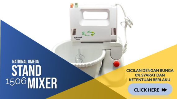 National Omega No-1506 Stand Mixer