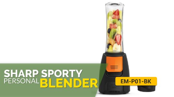 Sharp EM-P01-BK Sporty Personal Blender