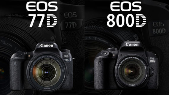 DSLR Canon EOS 77D dan 800D Dirilis di Indonesia, Harganya?