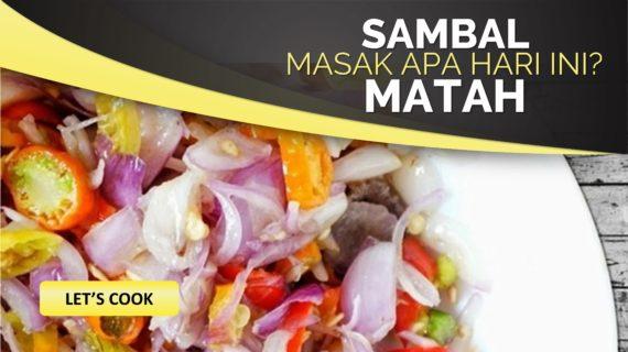 Resep Sambal Matah Khas Bali