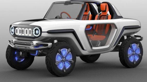 Inikah Tampilan Suzuki Jimny Masa Depan?