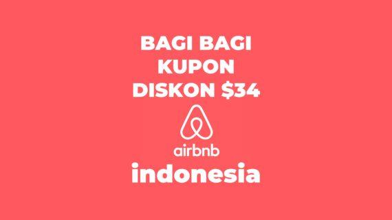 Bagi-Bagi Kupon Diskon AirBNB Indonesia